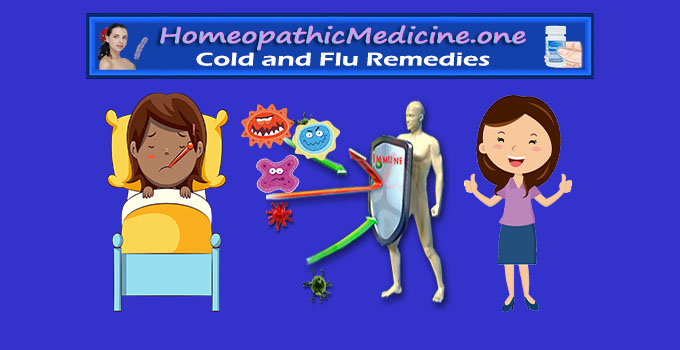 homeopathic medicine for cold and flu